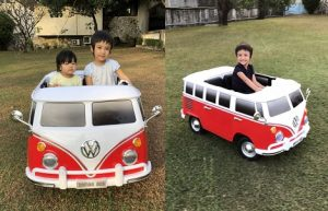 PapuMamushop รถแบตเตอรี่เด็กนั่ง
