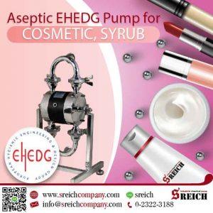 ปั๊มไดอะแฟรม มาตรฐาน EHEDG สำหรับงานสุขอนามัย pharmaceutical industry